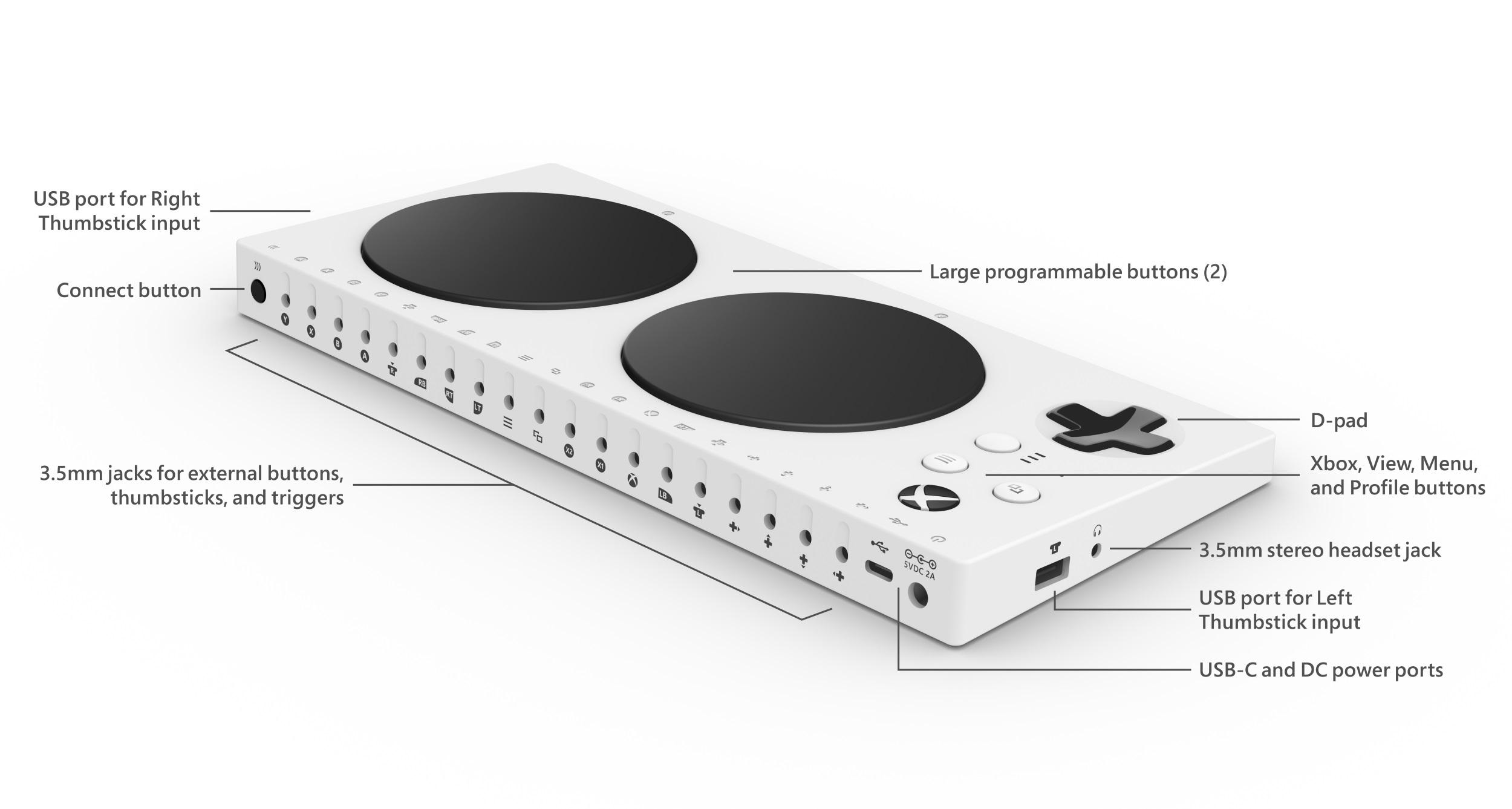 Xbox Adaptative Controller coloca a acessibilidade em primeiro plano