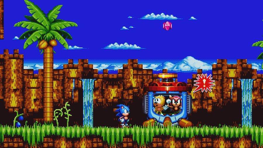 Sonic Mania Plus ganha diversas novas imagens com conteúdo inédito