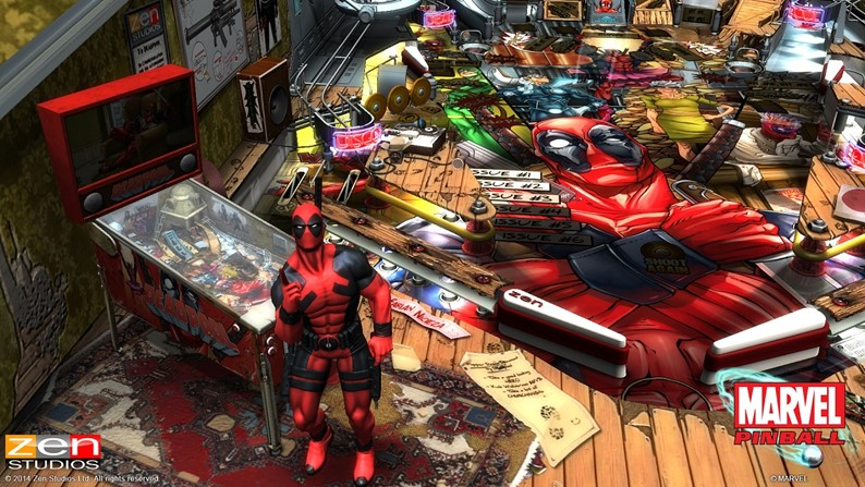 Marvel Pinball: Deadpool