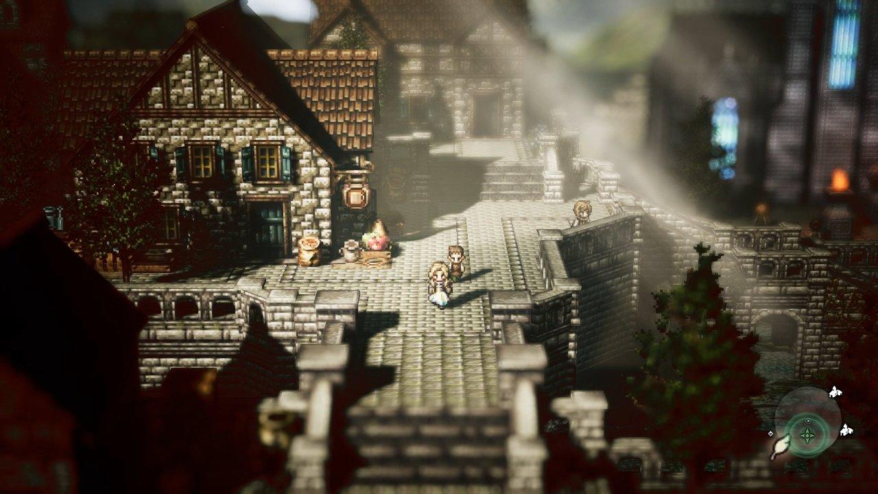 Octopath Traveler ganha enxurrada de imagens novas e detalhes do Mapa-Múndi