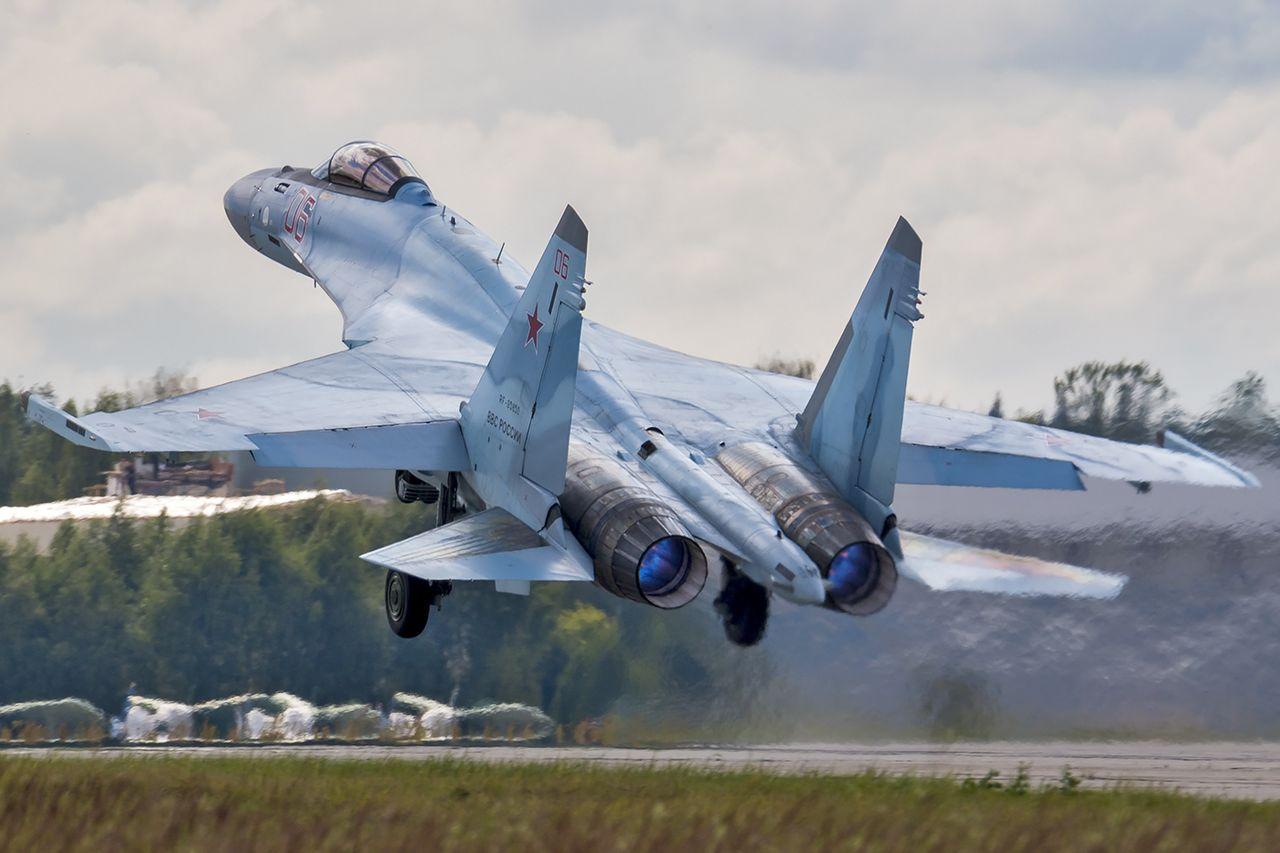Caça de fabricação russa