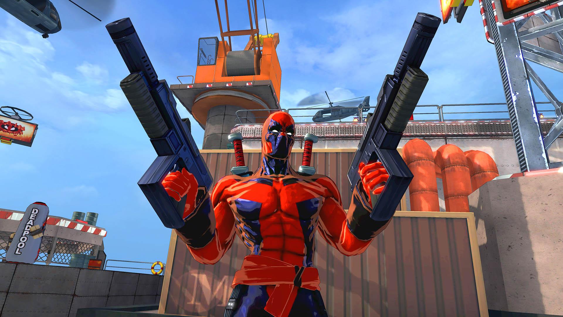 spider-man shattered deadpool