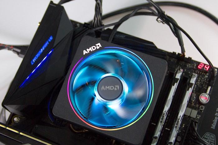 AMD Ryzen Wraith Prism cooler