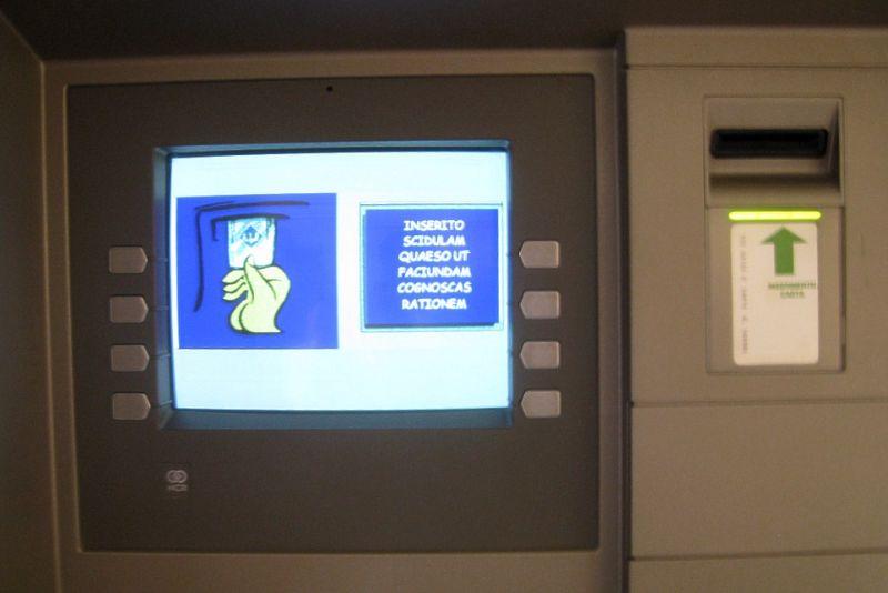 caixa eletrônico