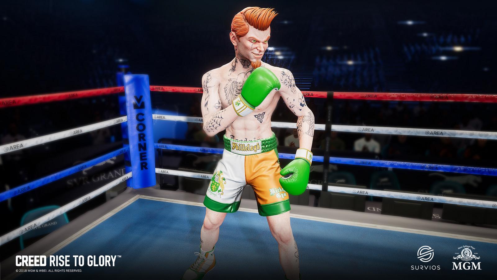 Creed: Rise to Glory trará o boxe em realidade virtual para o PSVR