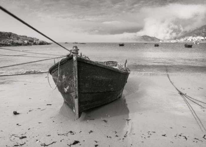 Praia em Corunha