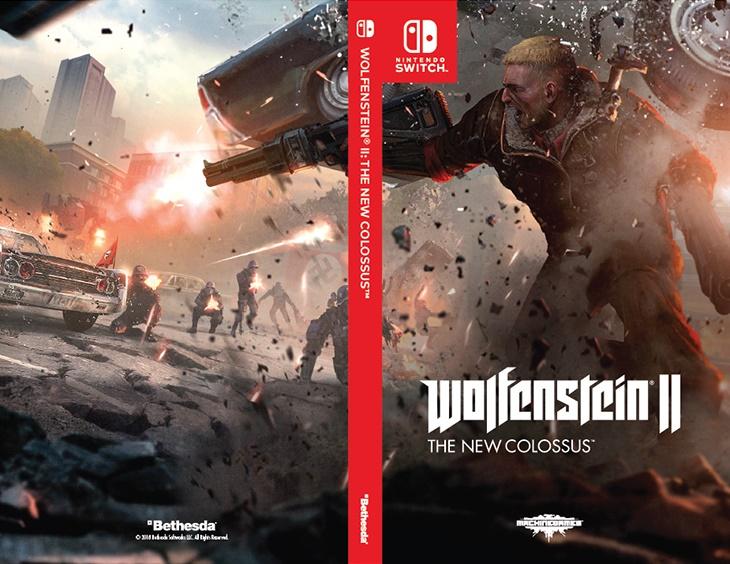 Wolfenstein II: diferentes modelos de capa serão lançados para o Switch