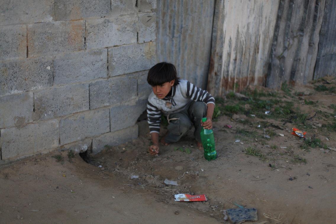 Criança palestina