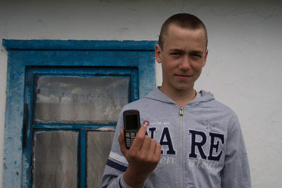 Garoto ucraniano