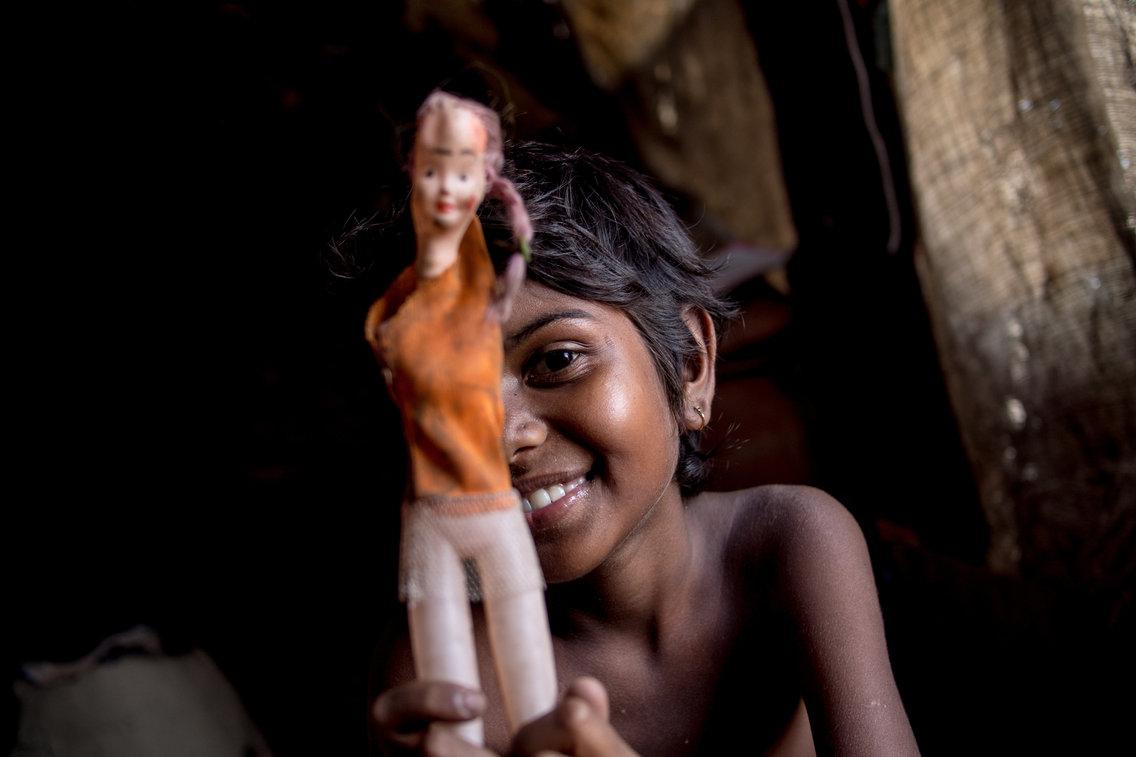 Menina indiana