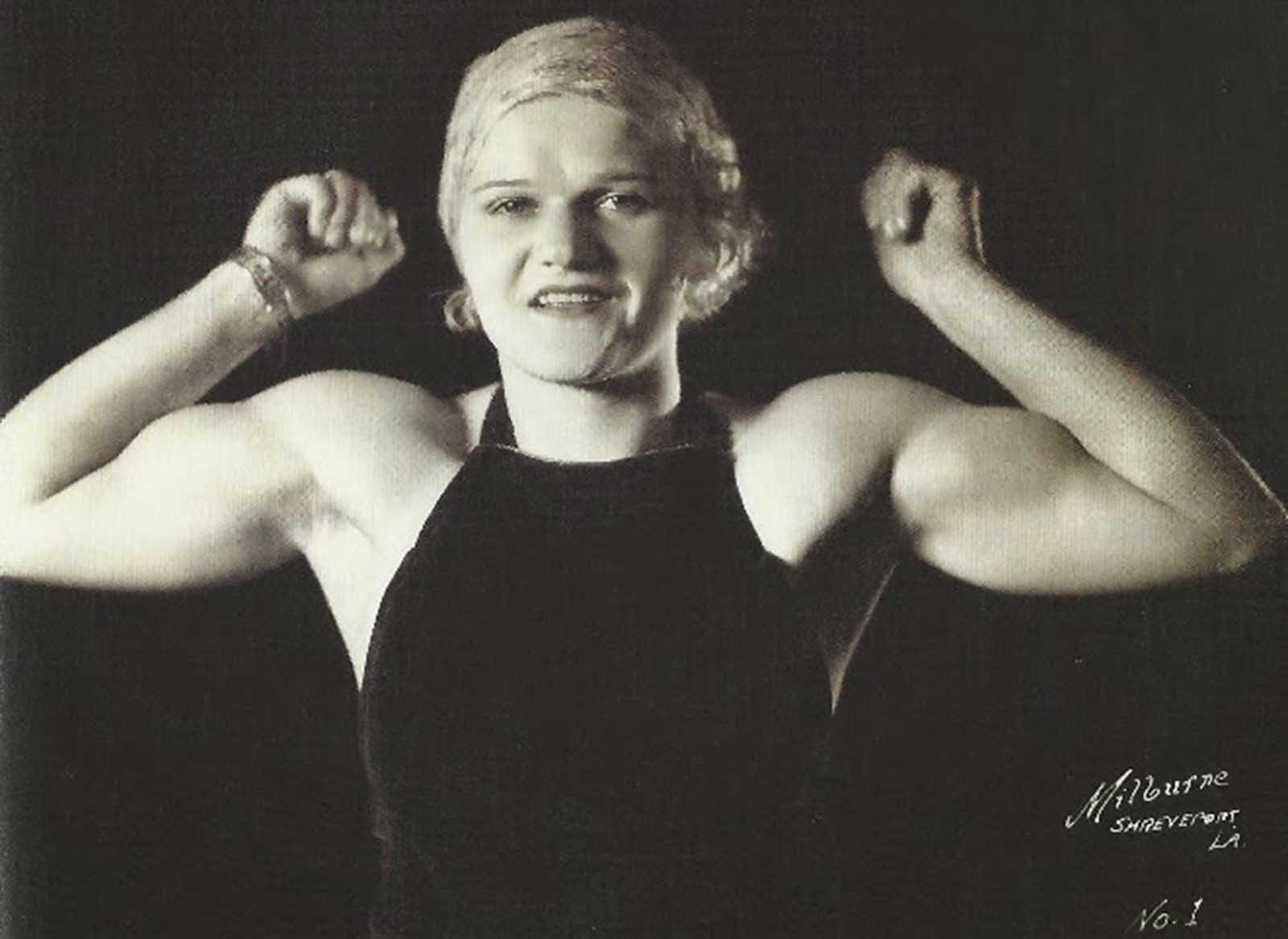 Mulher musculosa