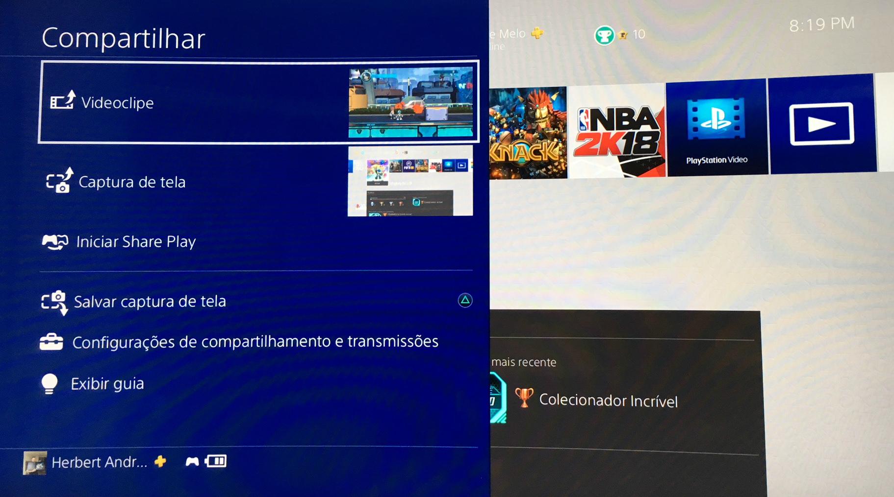 DVR PS4