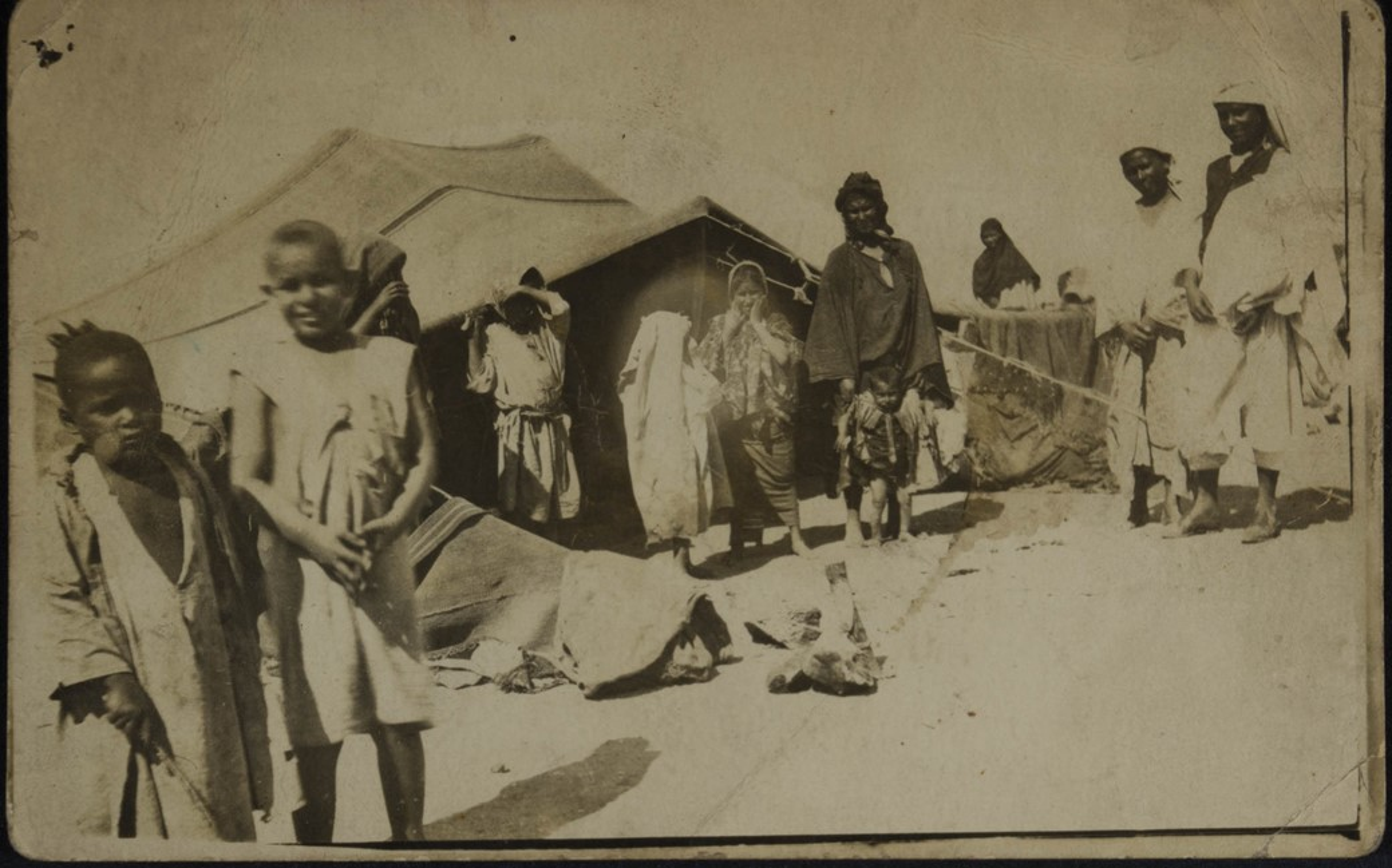 Grupo de beduínos