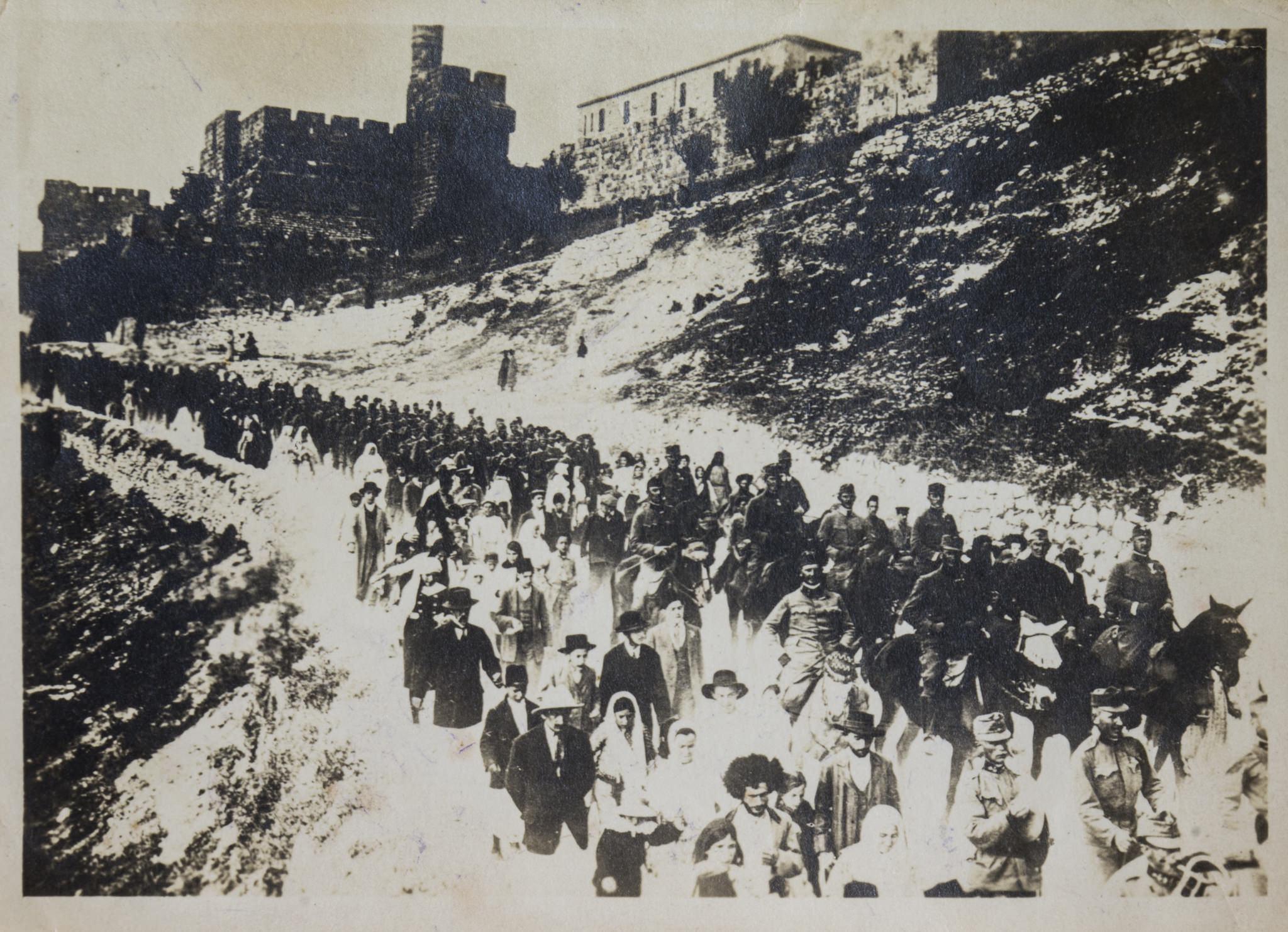 Partindo de Jerusalém