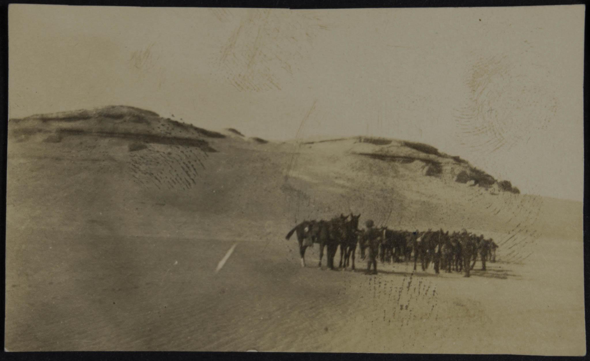 Soldados no deserto