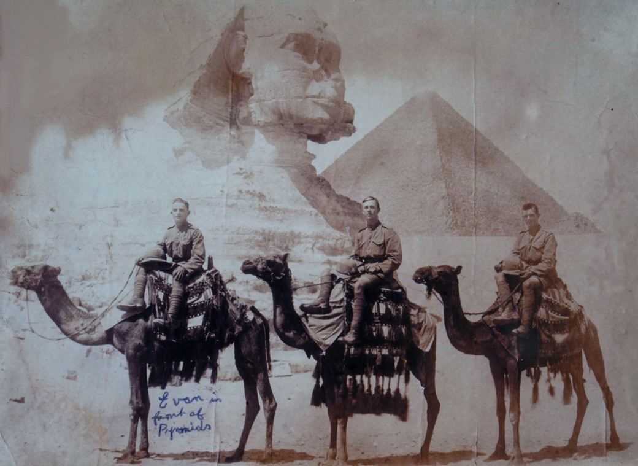 Soldados no Egito