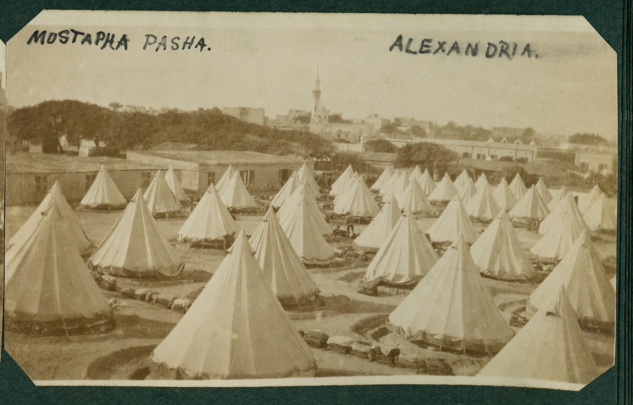 Tendas em Alexandria
