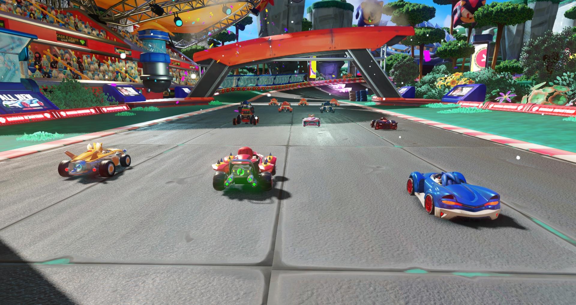 Team Sonic Racing ganha trecho de gameplay e diversas imagens antes da E3