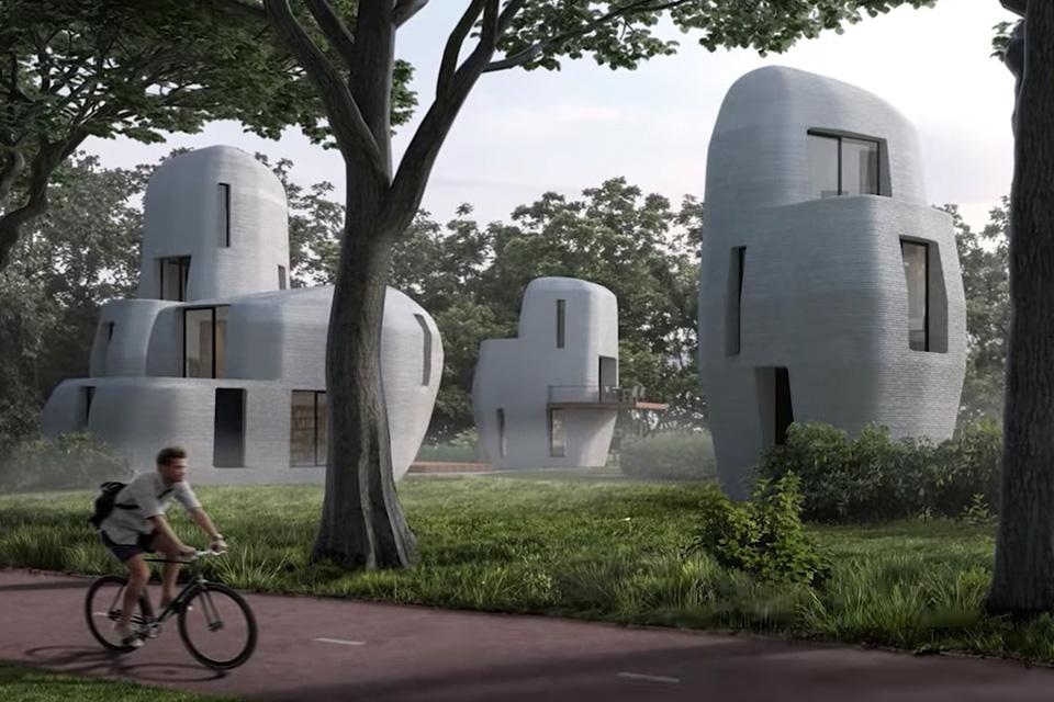 Holanda vai inaugurar o primeiro condomínio de casas impressas em 3D