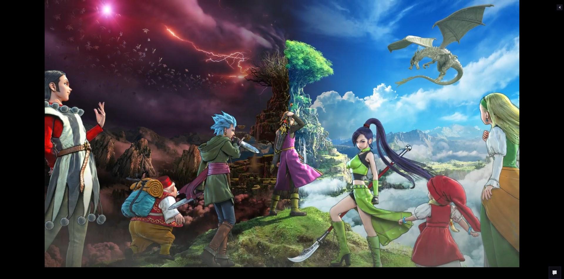 Dragon Quest XI surge em toda a sua glória na conferência da Square Enix