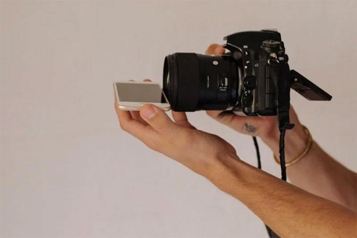 Truque fotográfico