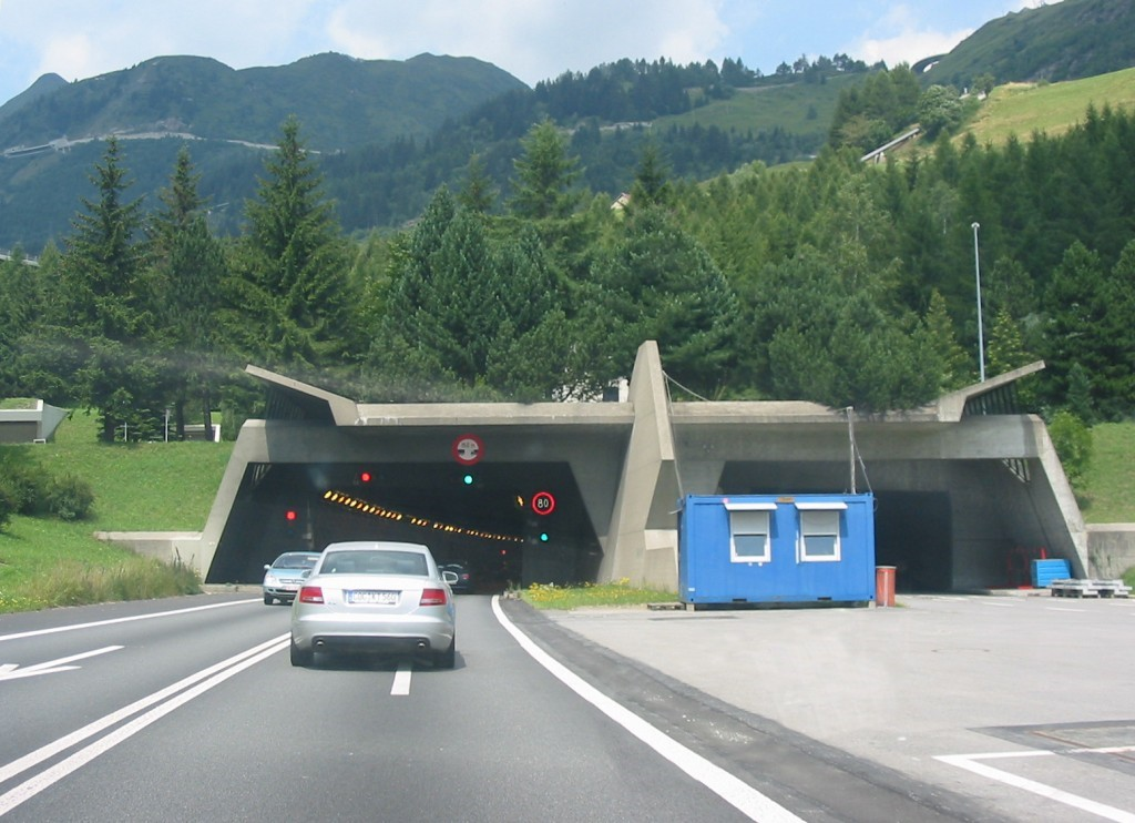 túnel são gotardo