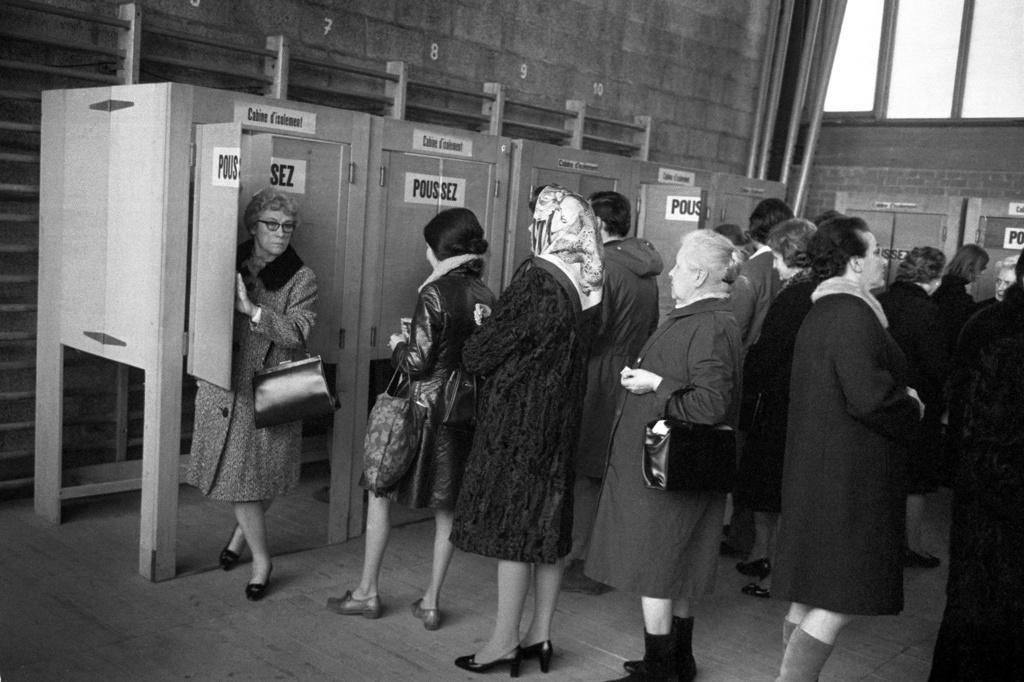 voto feminino na suíça em 1970