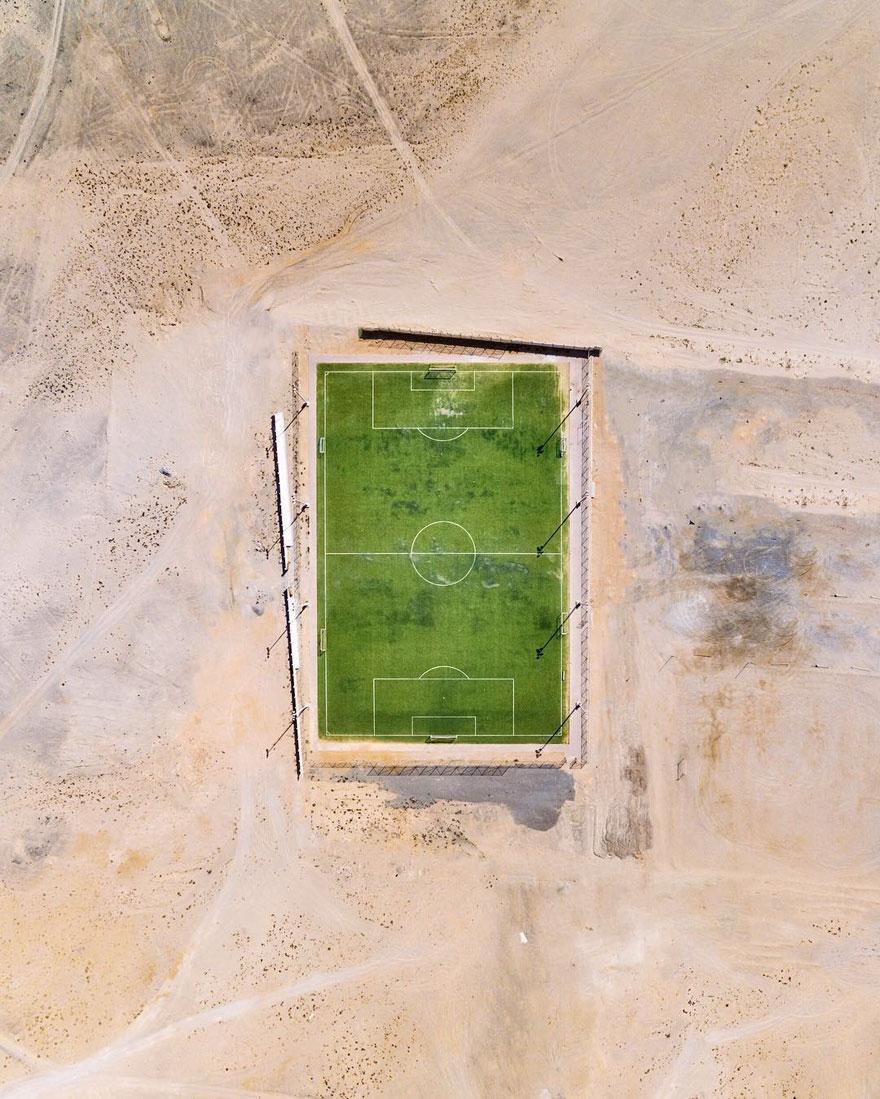 Tentando domar o deserto