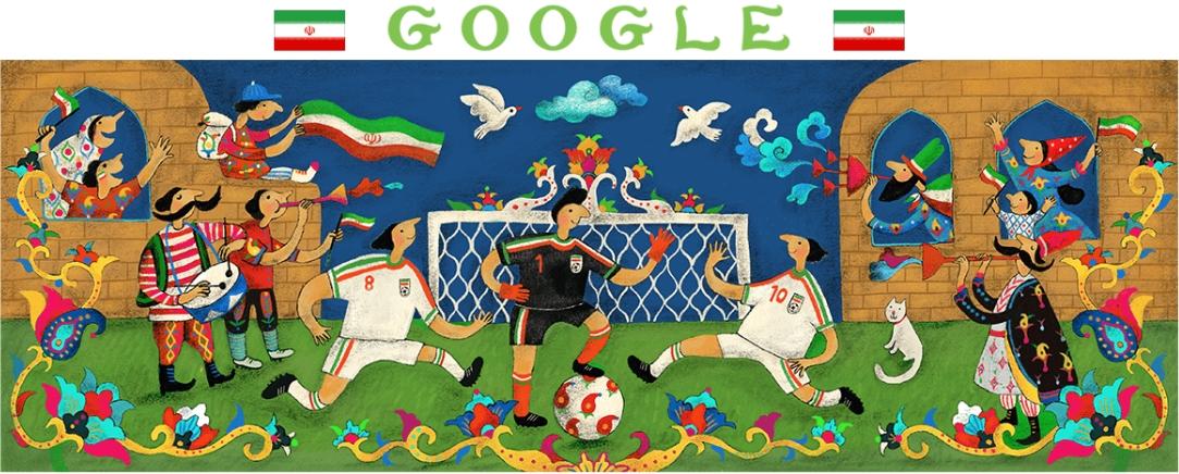 3148c69cffe Estes são os Doodles do Google para todas as 32 seleções da Copa do Mundo