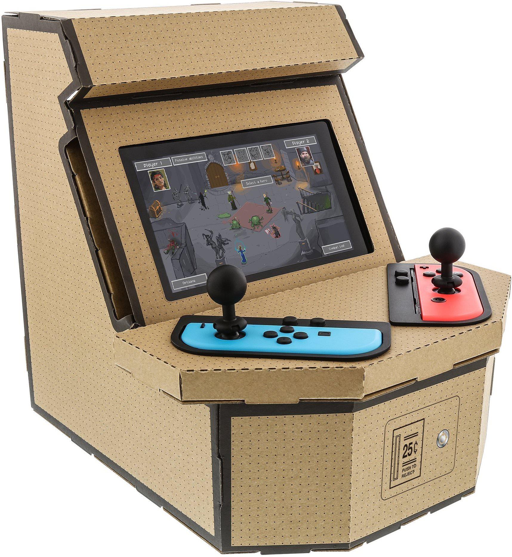 Kit personalizado do Nintendo Labo transforma seu Switch em um arcade