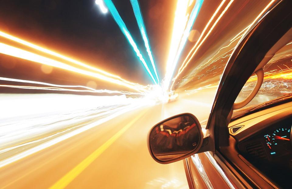 Carro em movimento