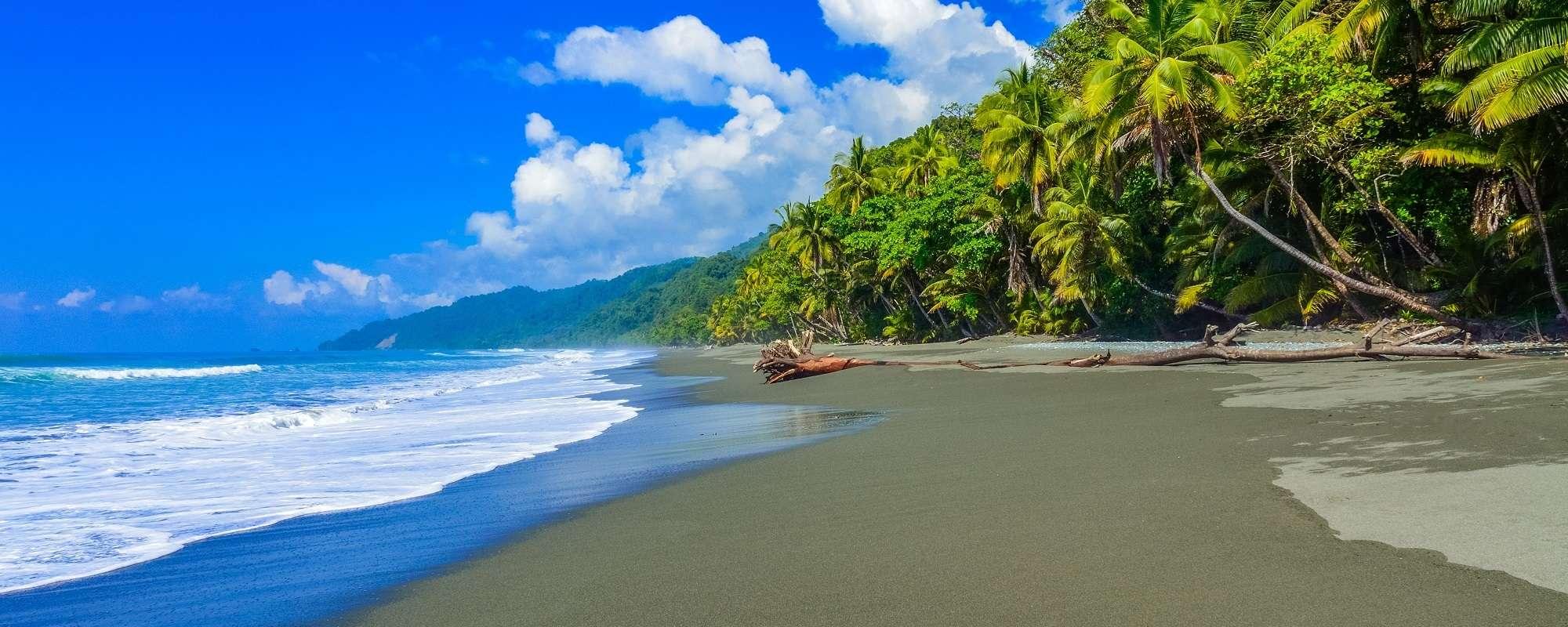 Praia costarriquenha