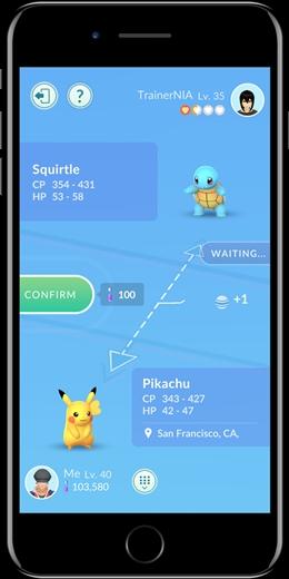[ATUALIZADO] Troca de pokémons em Pokémon GO está funcionando