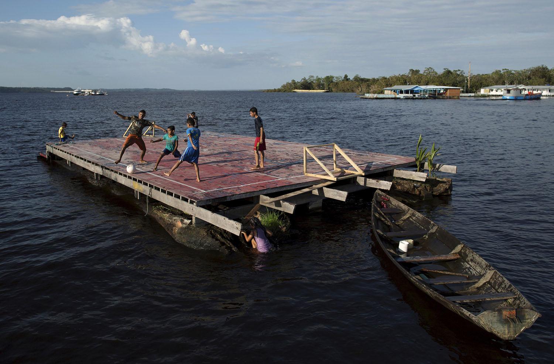 do Rio Negro, perto de Manaus