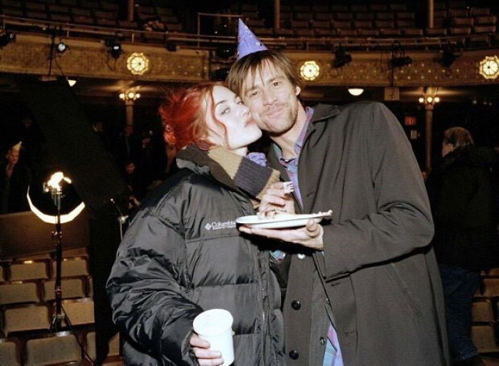 kate winslet e jim carrey