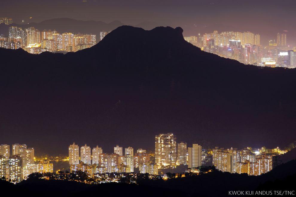 Montanha em Hong Kong