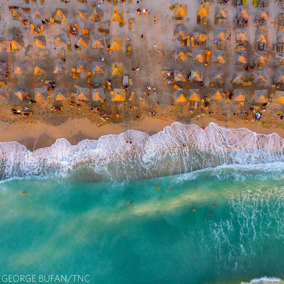Praia na Romênia