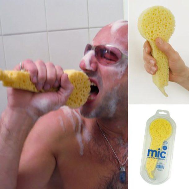Esponja microfone