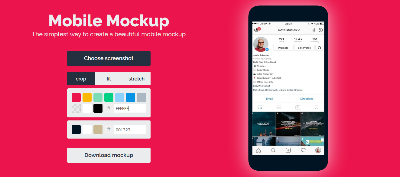 Mobile Mockup - Imagem 1 do software