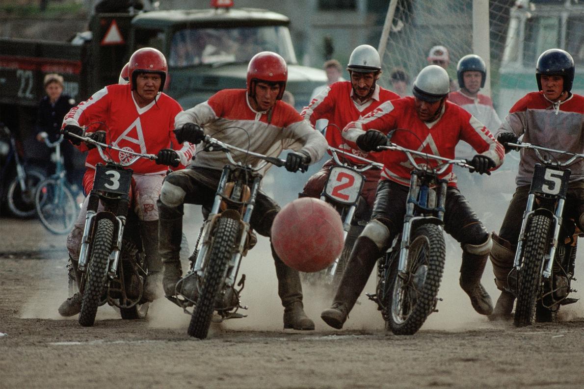Motobol na Sibéria