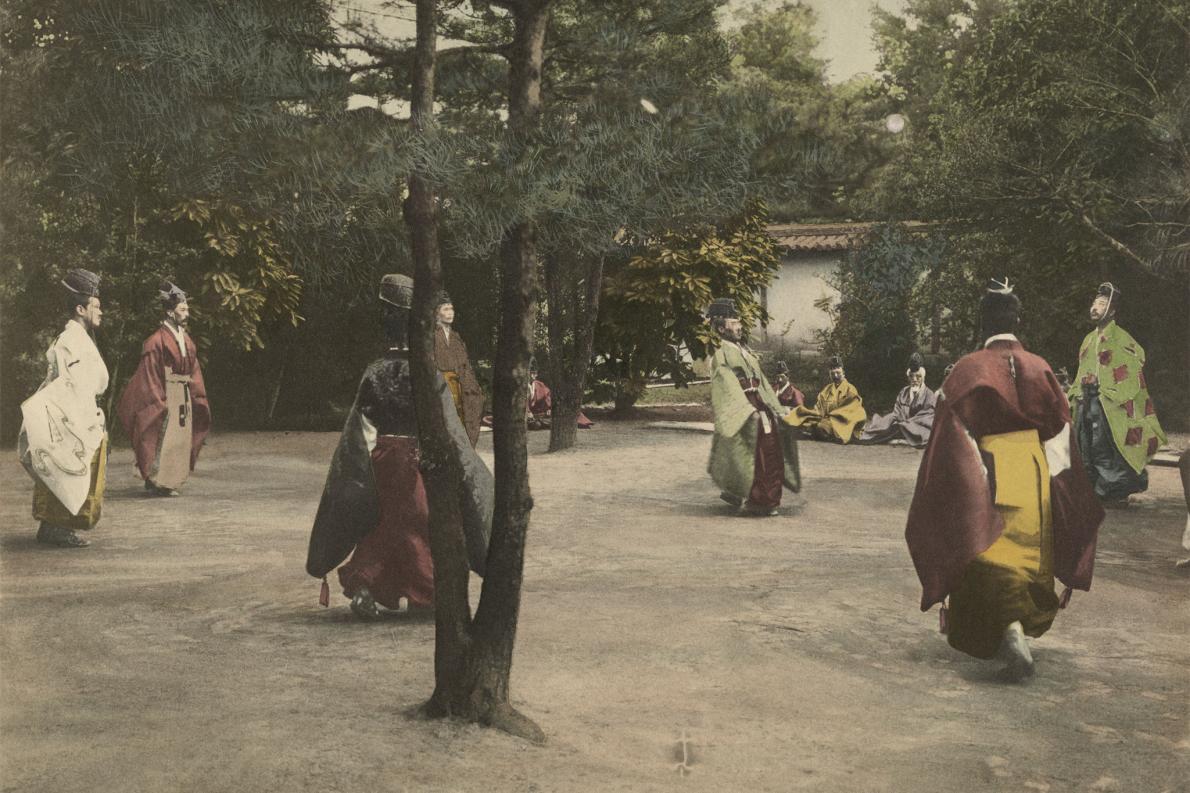 Nobres jogando no Japão