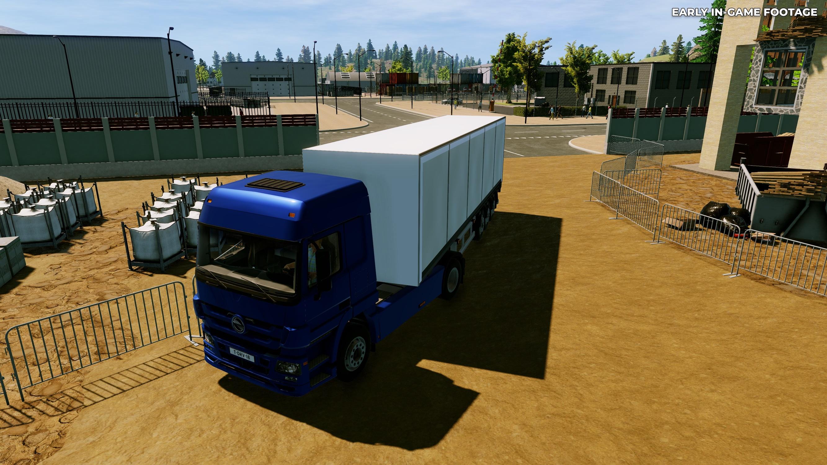 Truck Driver, simulador de caminhão, é anunciado para PC, PS4 e Xbox One