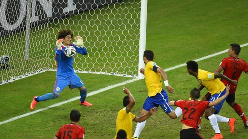 Brasil e México na Copa