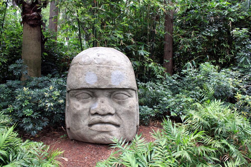 Cabeça de Pedra Olmeca