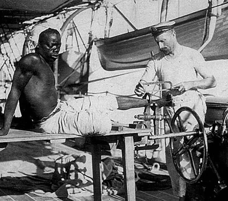 Escravo africano