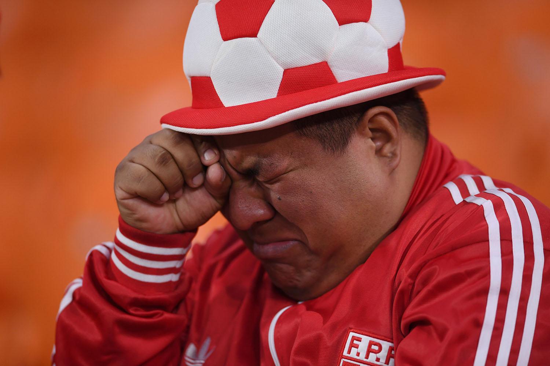 Peruano triste