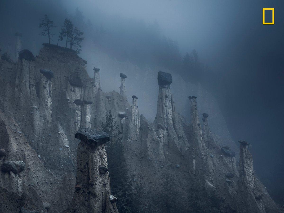 Pilares de pedra