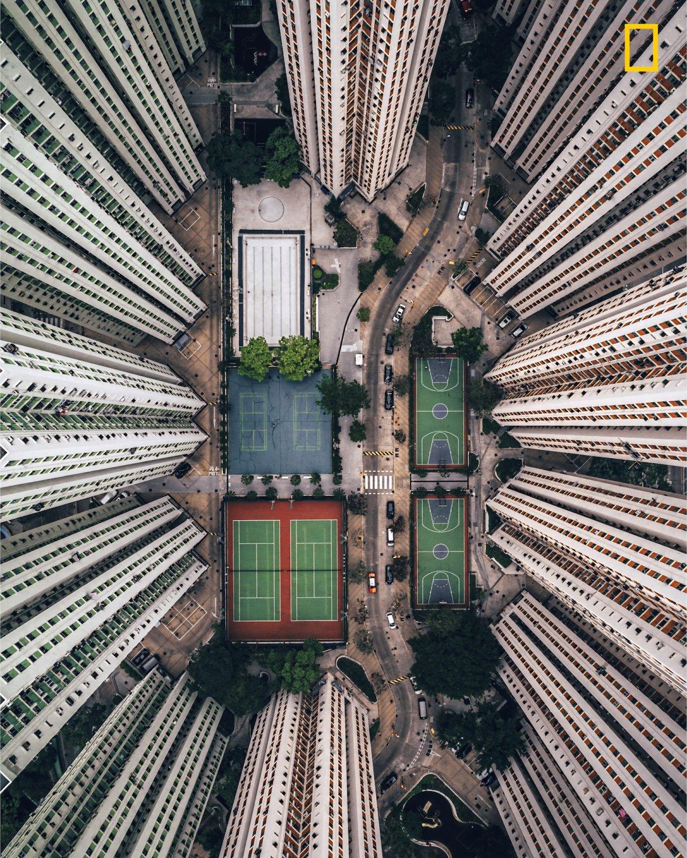 Vista em Hong Kong