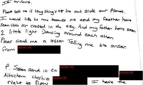 Carta de criança