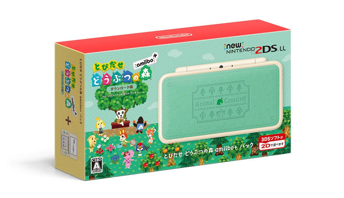 Versões do 2DS XL de Animal Crossing, Minecraft e Mario Kart são incríveis